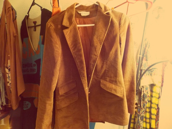 Vintage blazer from Buffalo Exchange - $13